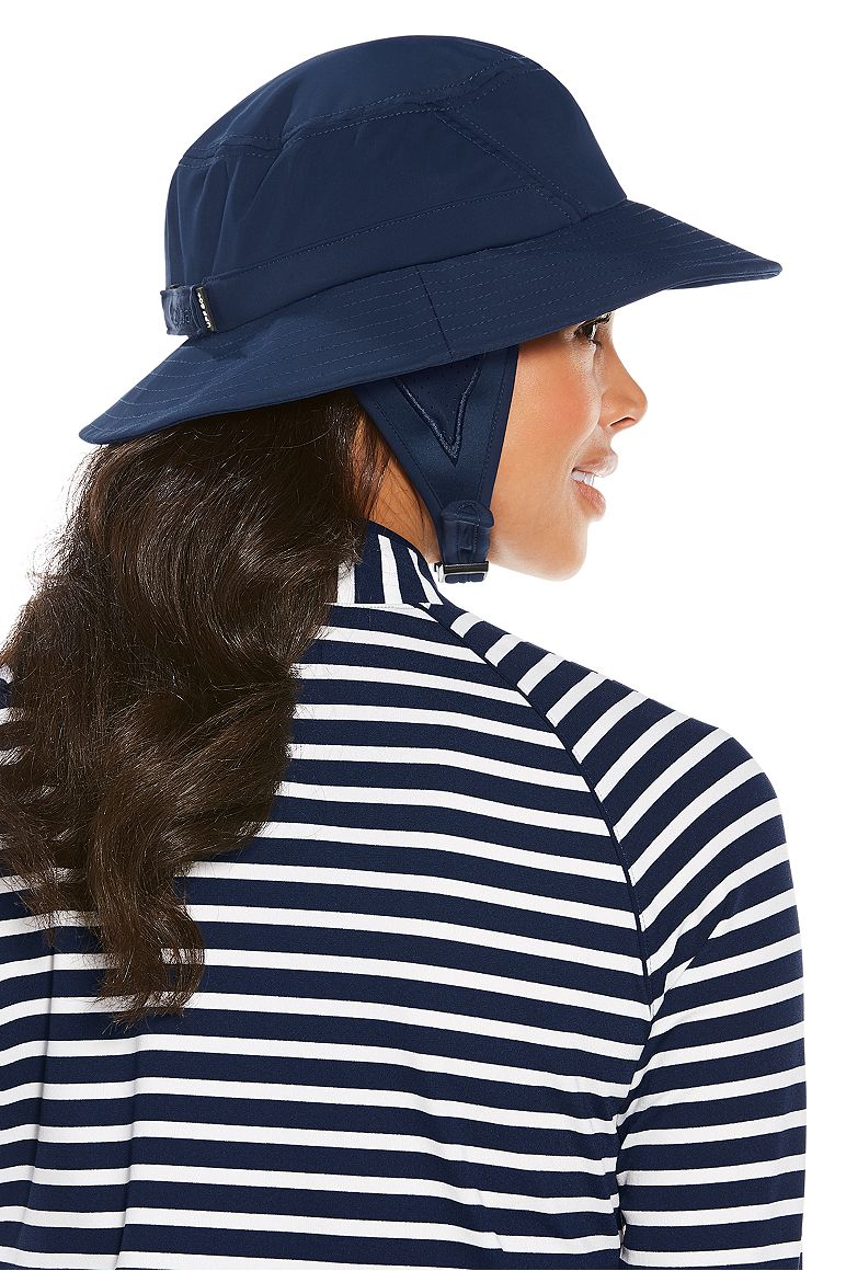 Women's Caspian Chlorine Resistant Bucket Hat UPF 50+
