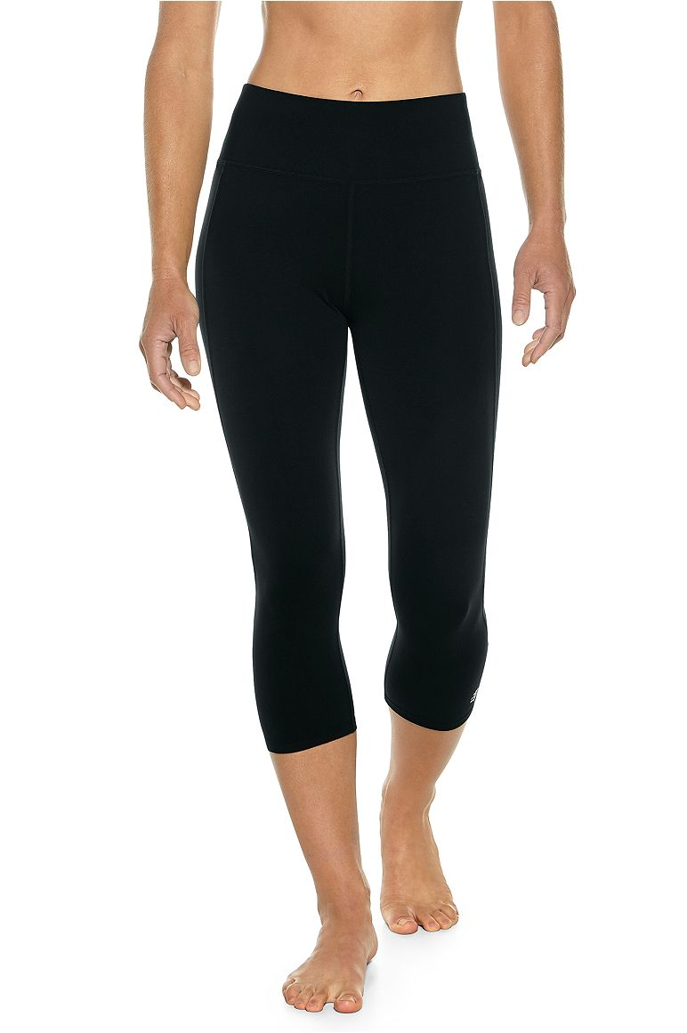 Women's High-Rise Asana Yoga Capris UPF 50+