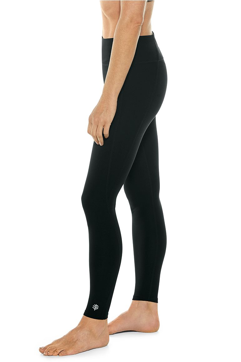 Women's High-Rise Asana Yoga Leggings UPF 50+