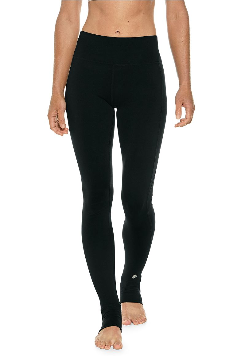 af37edcb221a4 ... Women's High-Rise Asana Yoga Stirrup Leggings UPF 50+