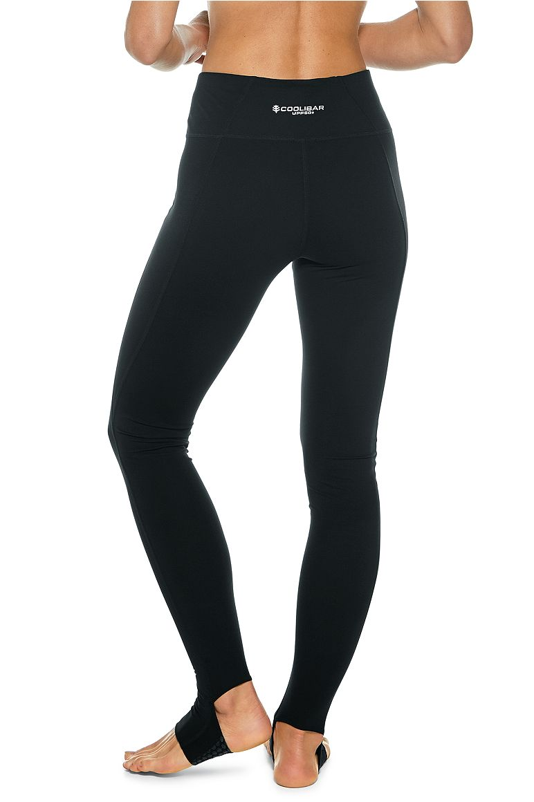Women's High-Rise Asana Yoga Stirrup Leggings UPF 50+