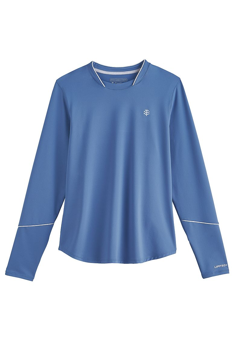 Women's Long Sleeve Match Point Tee UPF 50+