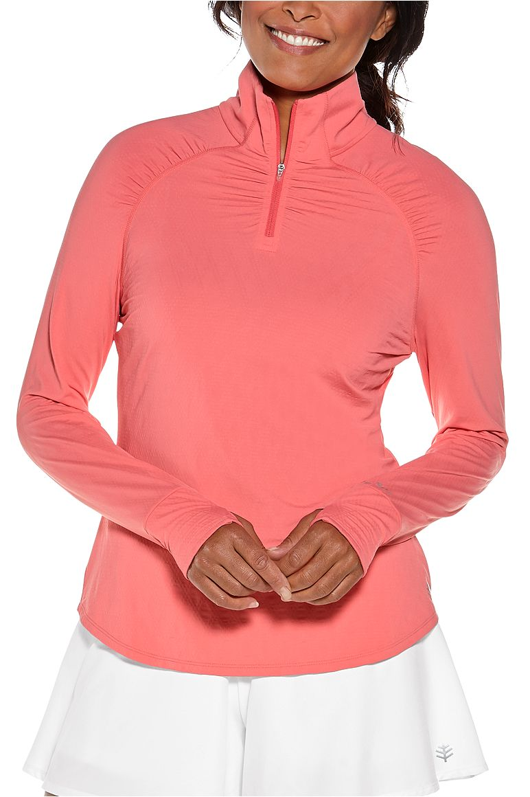 Women's Arabella Quarter-Zip UPF 50+