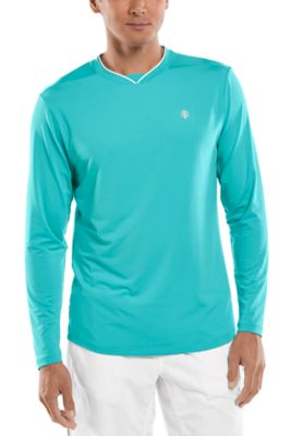 Men's Tiebreaker Long Sleeve Tee UPF 50+