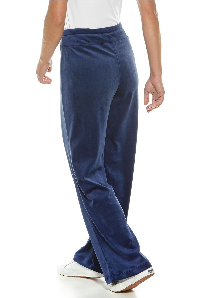 Women's Beach Velour Pants UPF 50+