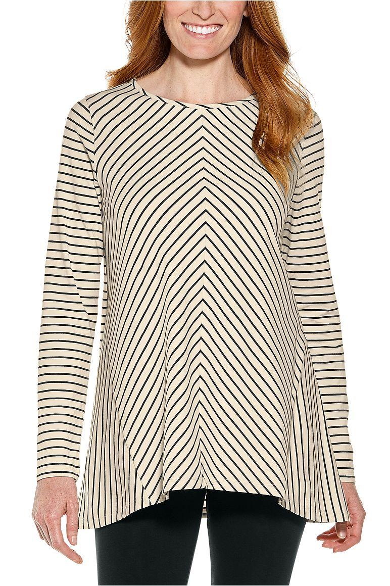 Women's Horizon Striped Tunic Top UPF 50+