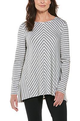 Women's Horizon Striped Tunic Top UPF 50+
