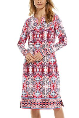 Women's Oceanside Long Sleeve Dress UPF 50+