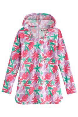 Girl's Seacoast Swim Cover-Up Dress UPF 50+