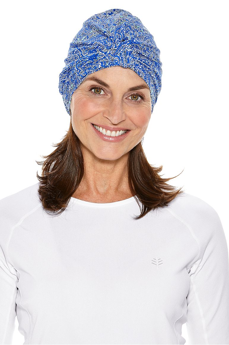 Women's Vias Swim Turban UPF 50+