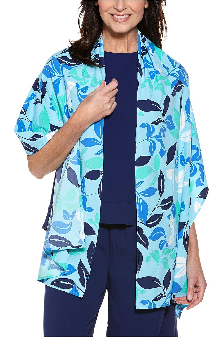 Palatine Scarf Ice Blue OS Tropical Island