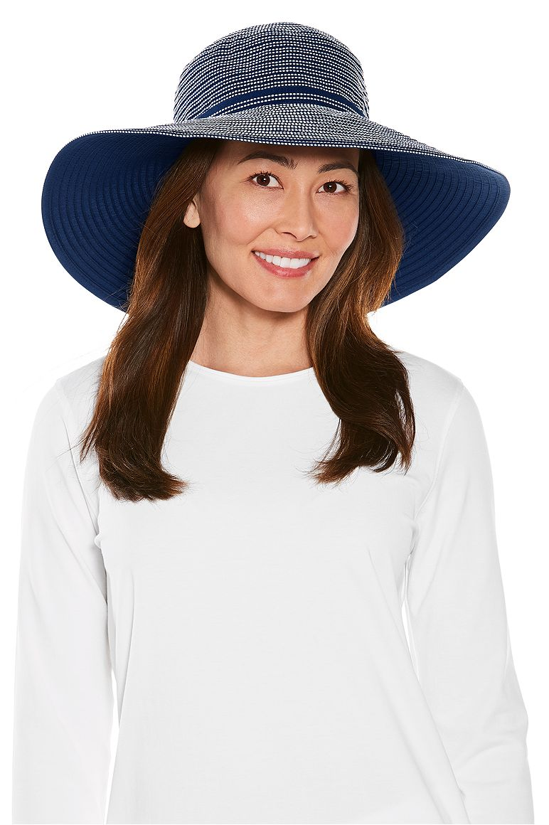 Women's Reversible Zoey Ribbon Hat UPF 50+