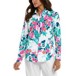 Coolibar UPF 50+ women in top shirt