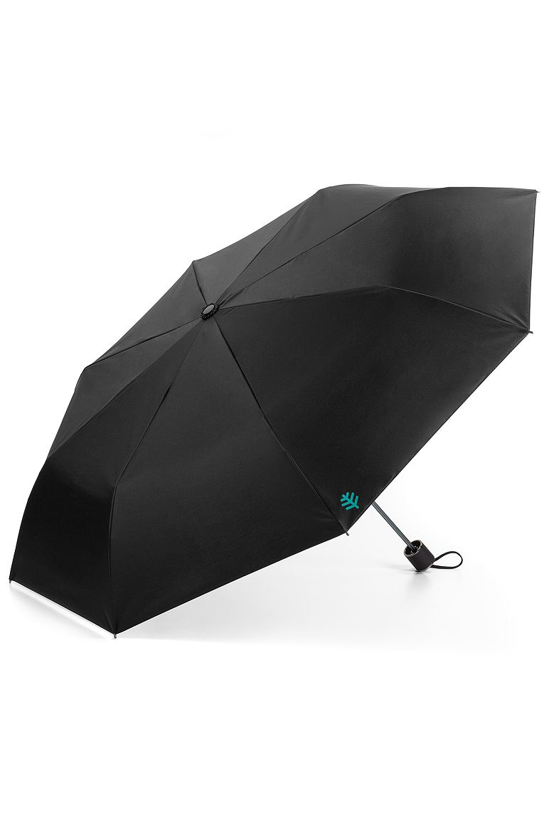 Bund Compact Umbrella Black OS Solid