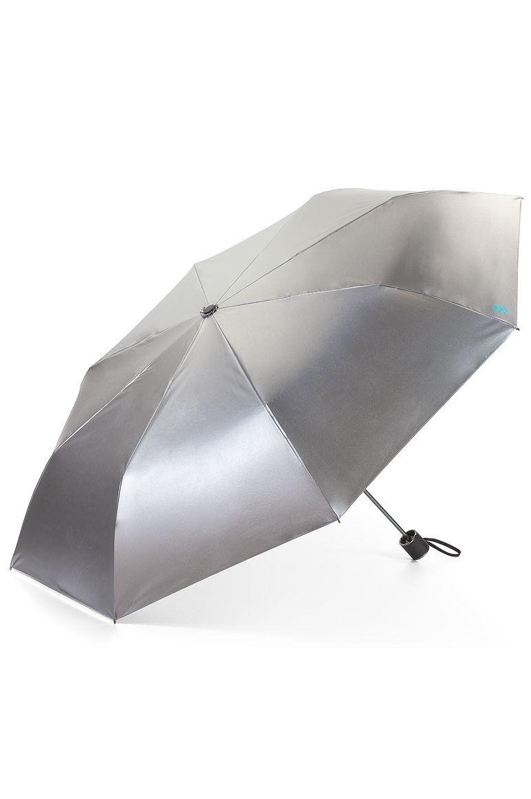 Bund Compact Umbrella Silver OS Solid