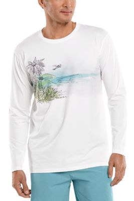 Men's Morada Everyday Long Sleeve Graphic T-Shirt UPF 50+