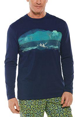 Men's Morada Everyday Long Sleeve Graphic T-Shirt UPF 50+