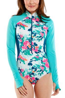 Women's Escalante High Neck Swimsuit UPF 50+