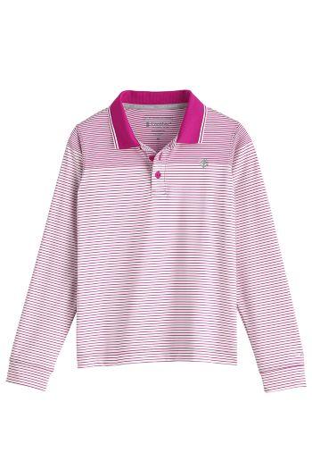 Kid's Erodym Long Sleeve Golf Polo