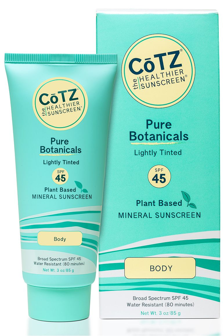 CoTZ Pure Botanicals SPF 45 Sunscreen 3 oz