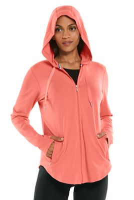 Women's LumaLeo Zip-Up Hoodie UPF 50+