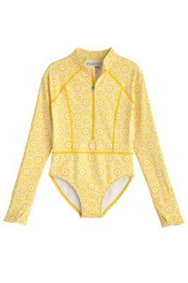 Girl's Koko Long Sleeve Swimsuit UPF 50+