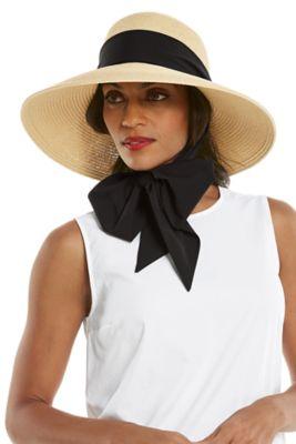 Women's Stella Scarf Detail Hat UPF 50+
