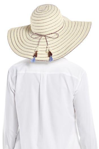 Women's Marlee Paper Stripe Hat