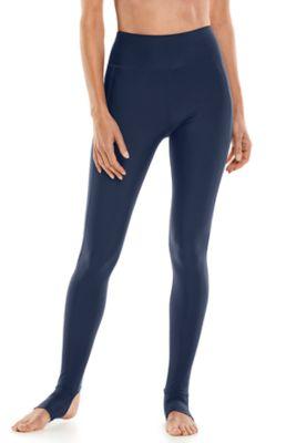 Women's Serra Mesa Stirrup Swim Leggings UPF 50+