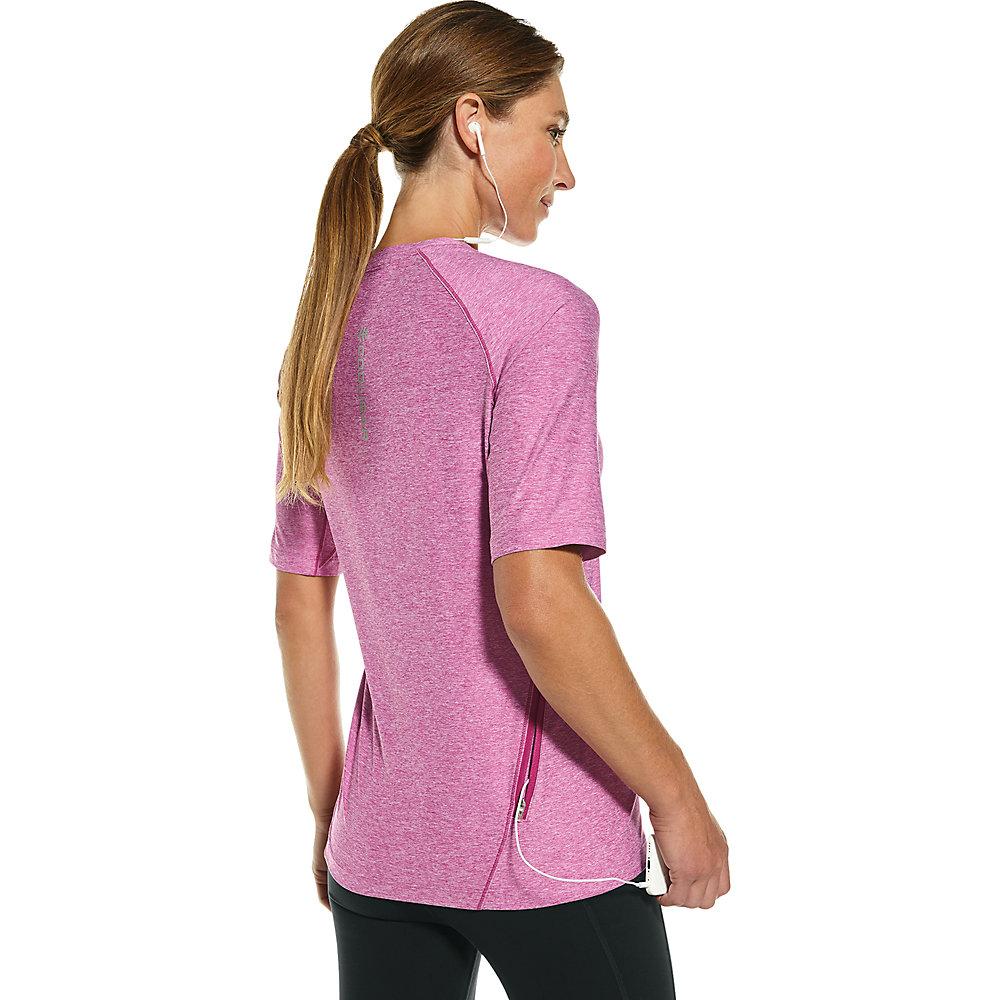 T Upf 50 a per shirt corta manica fitness il Coolibar HwHfqar