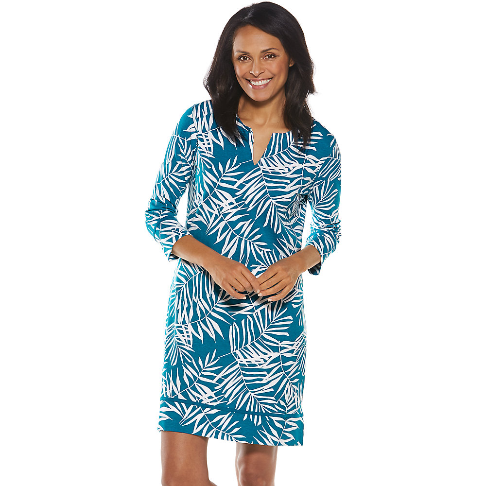 Coolibar UPF 50+ Women\'s Oceanside Tunic Dress | eBay