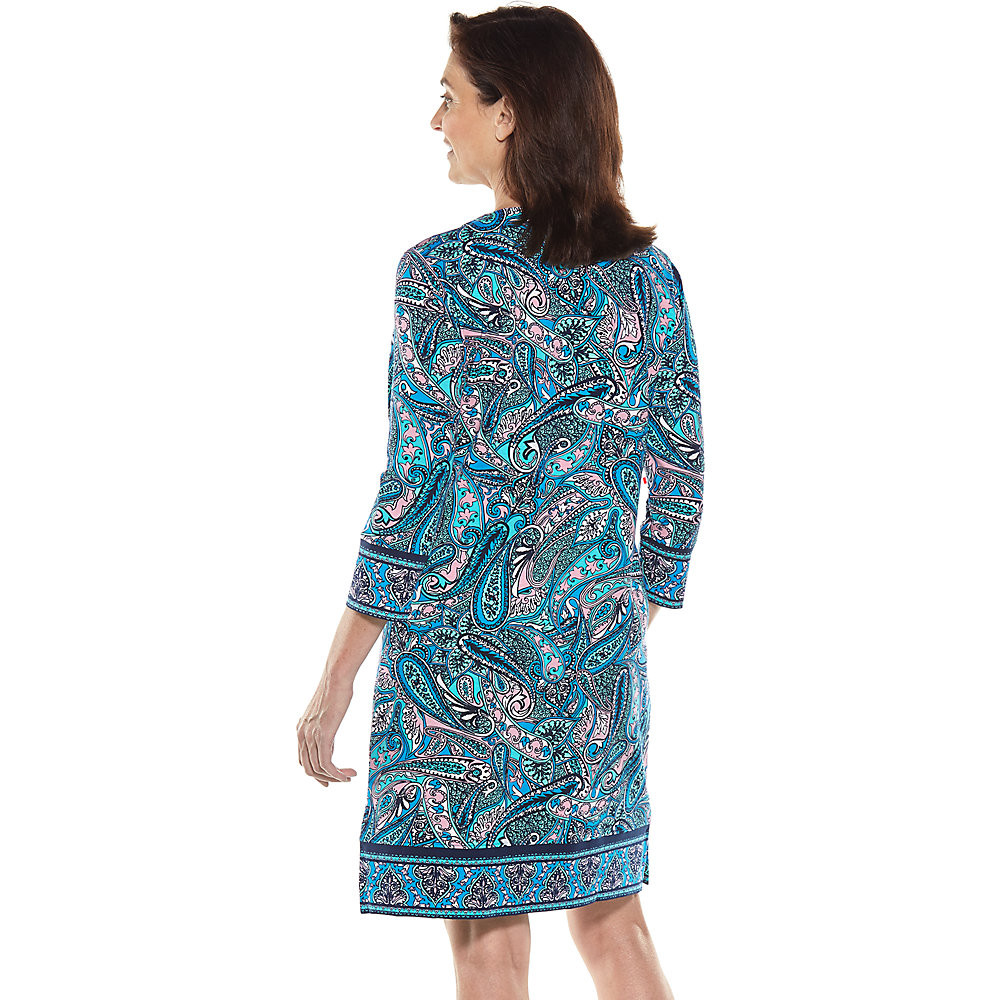 9dd4162ccdf Coolibar UPF 50+ Women  039 s Oceanside Tunic Dress