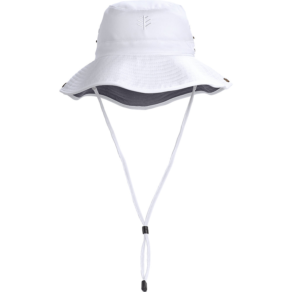 b8d881418a323d Coolibar UPF 50 Men's Featherweight Bucket Hat Large White/carbon. About  this product. Picture 1 of 3; Picture 2 of 3; Picture 3 of 3