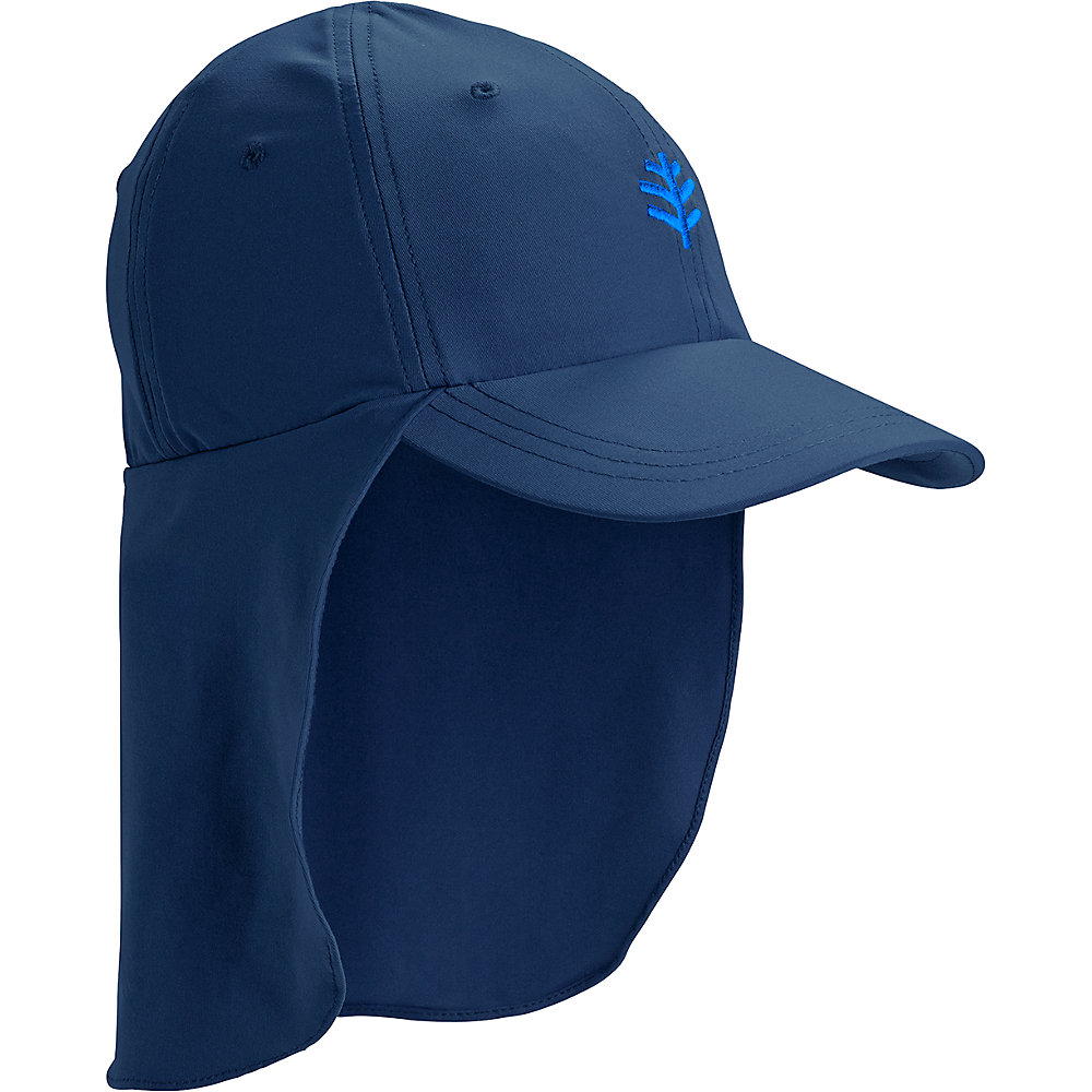 Coolibar UPF 50 Girls Surfs up All Sport Hat - Sun Protective Large x-large  Navy. About this product. Picture 1 of 2  Picture 2 of 2 d4fa9bb71493