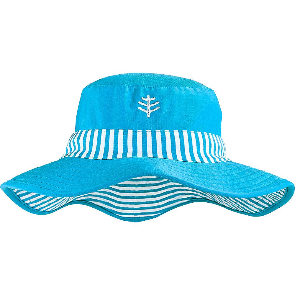 c6d60f52114e7 Details about Coolibar UPF 50+ Girls  Reversible Surf Bucket Hat