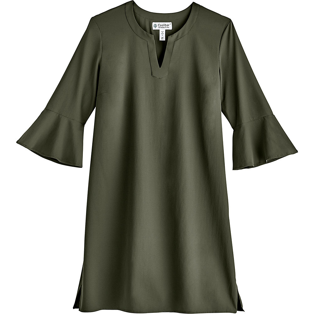 Coolibar-UPF-50-Women-039-s-Cannes-Tunic-Dress thumbnail 8