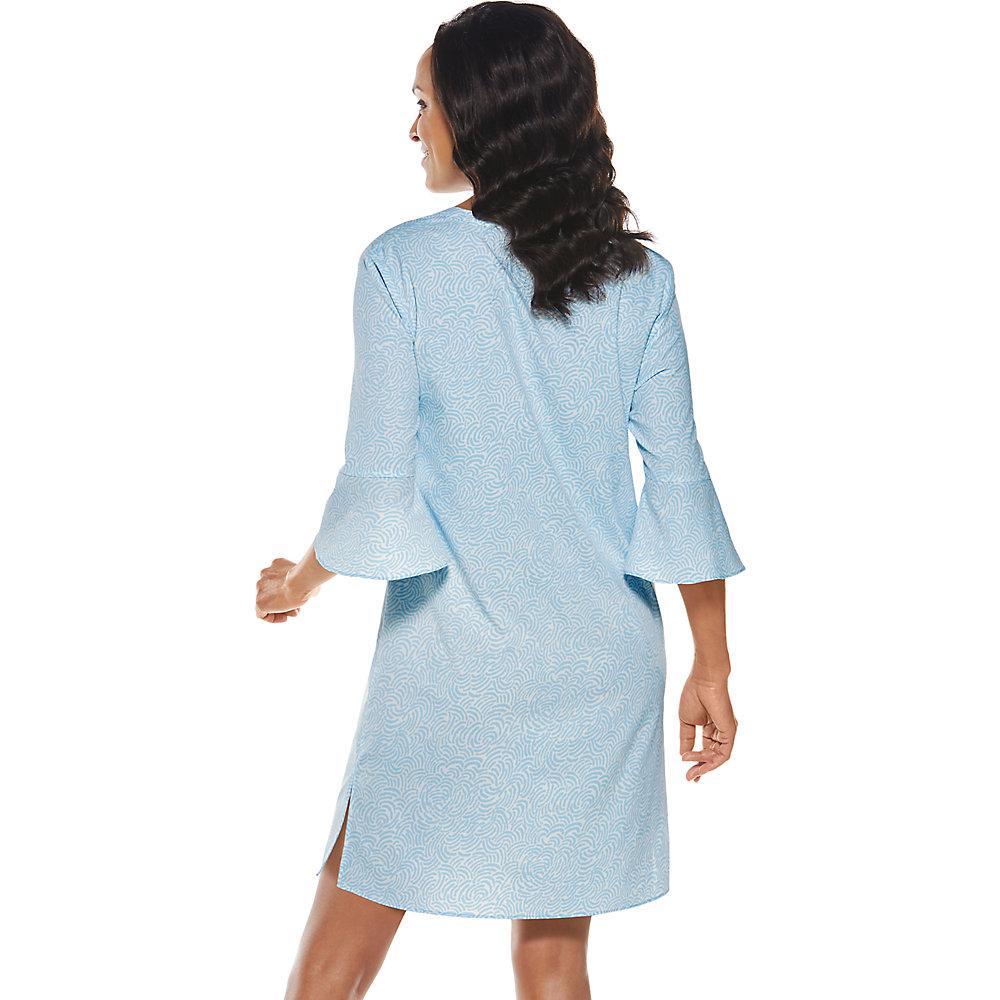 Coolibar-UPF-50-Women-039-s-Cannes-Tunic-Dress thumbnail 5