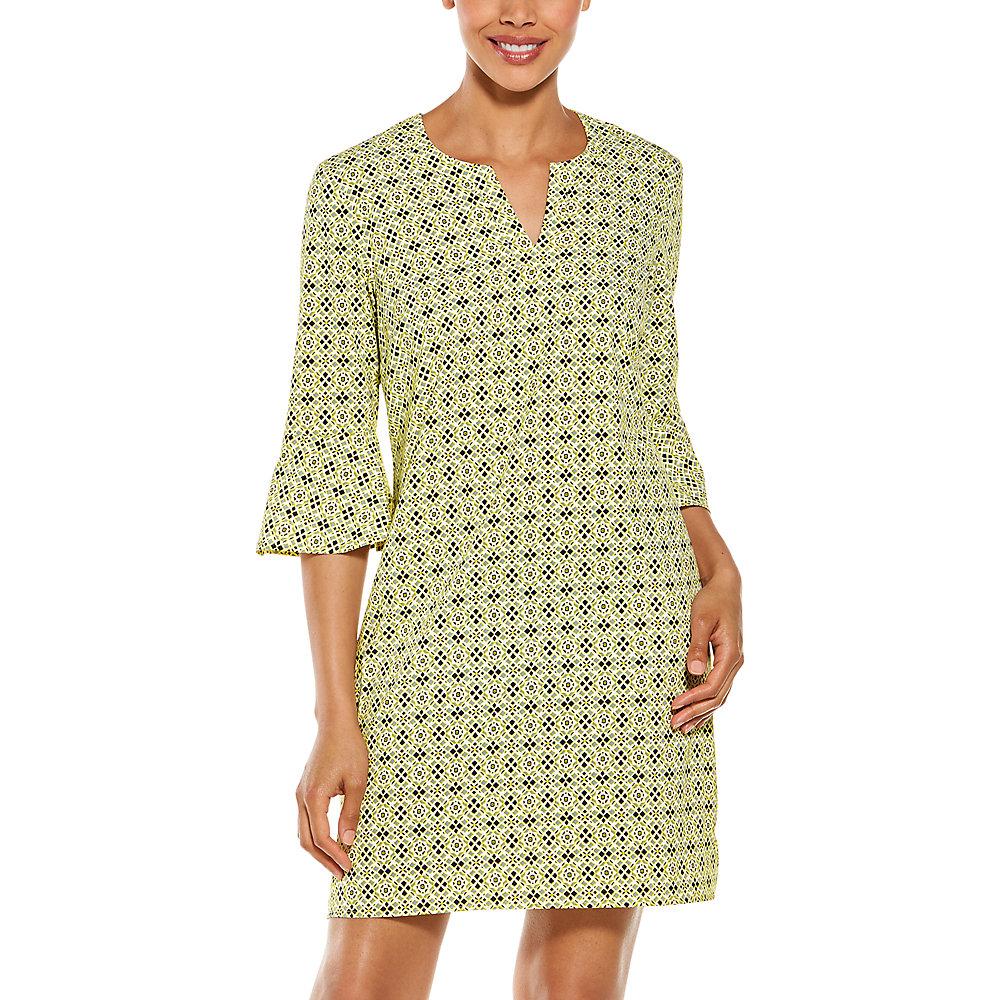 Coolibar-UPF-50-Women-039-s-Cannes-Tunic-Dress thumbnail 10