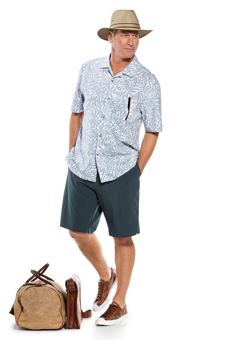 Safari Camp Shirt & Trek Hybrid Short Outfit