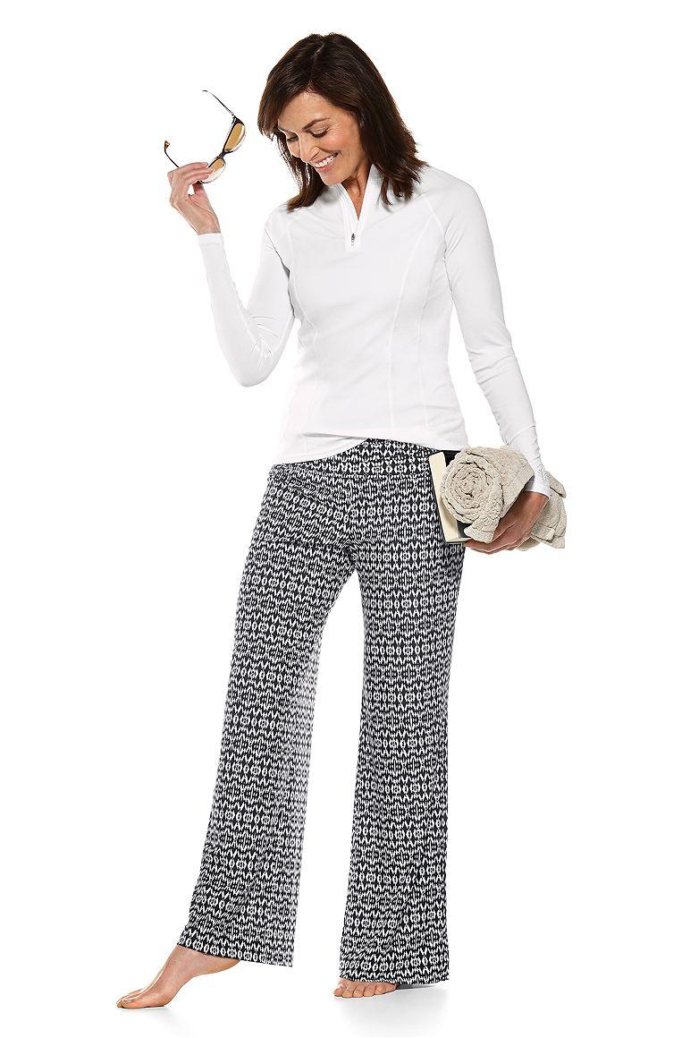 Freestyle L/S Rash Guard & Rio Palazzo Pant Outfit