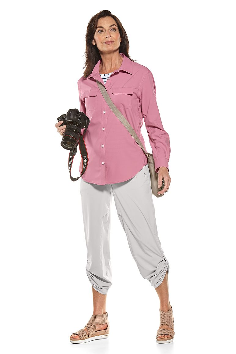 Travel Shirt & Canyon Roll-Up Pants Outfit