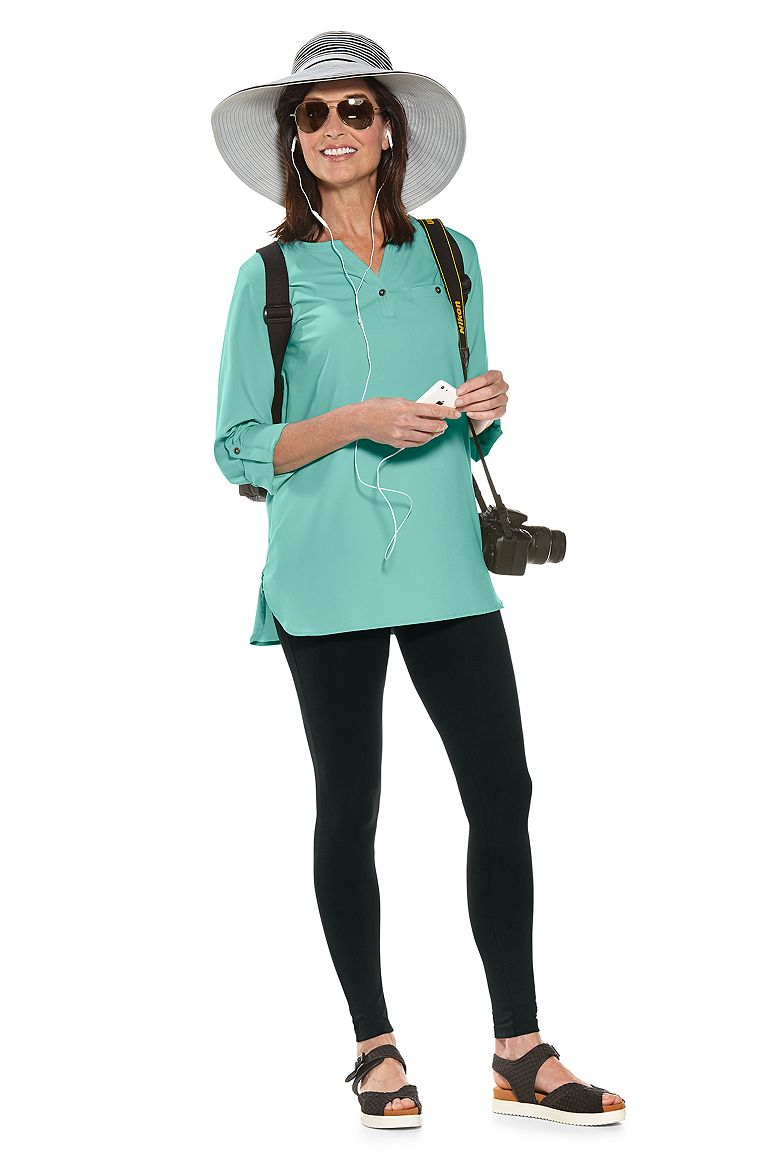 Travel Tunic Top & Summer Legging Outfit