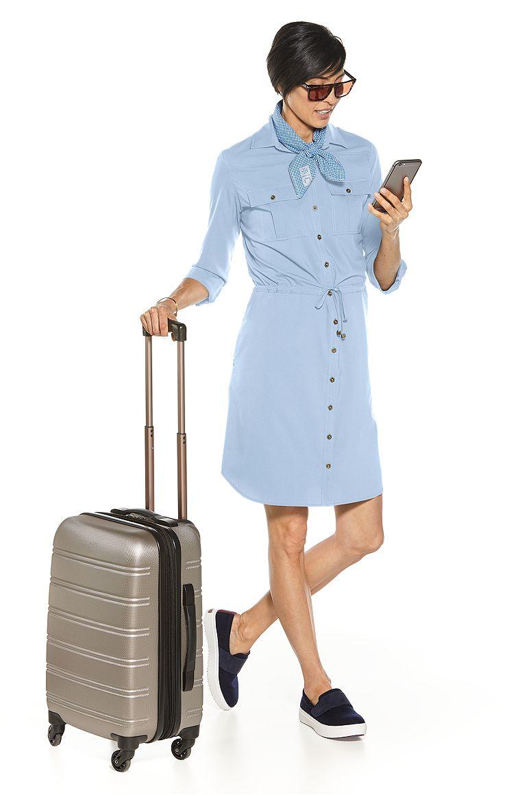 Travel Shirt Dress Outfit