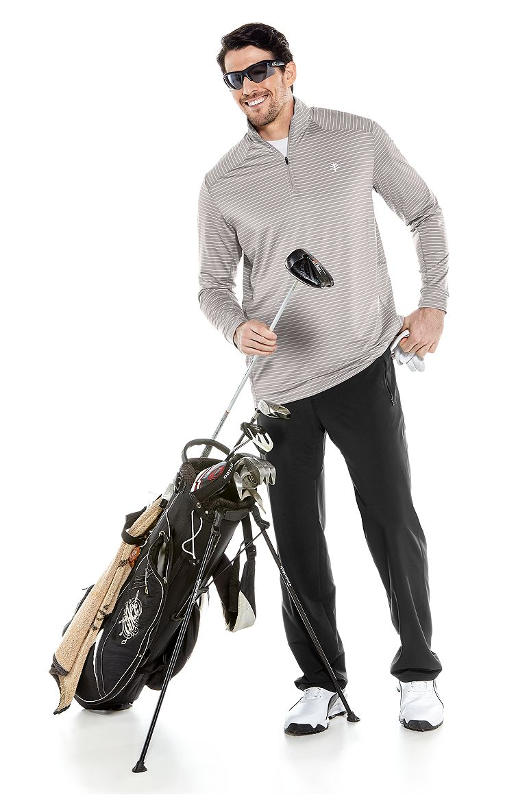 Golf Pullover & Hiking Pants Outfit