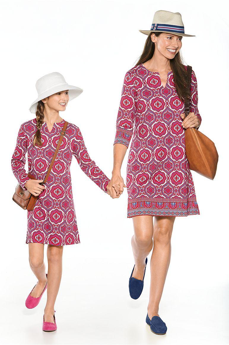 Girl's Tunic Dress & Women's Oceanside Tunic Dress