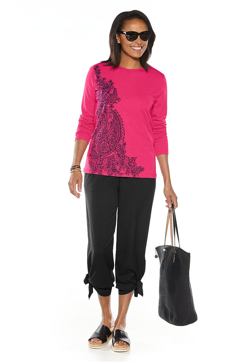 Graphic T-Shirt & Wide Leg Pant Outfit