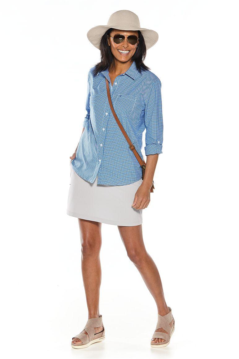 Sun Shirt & Travel Skort Outfit