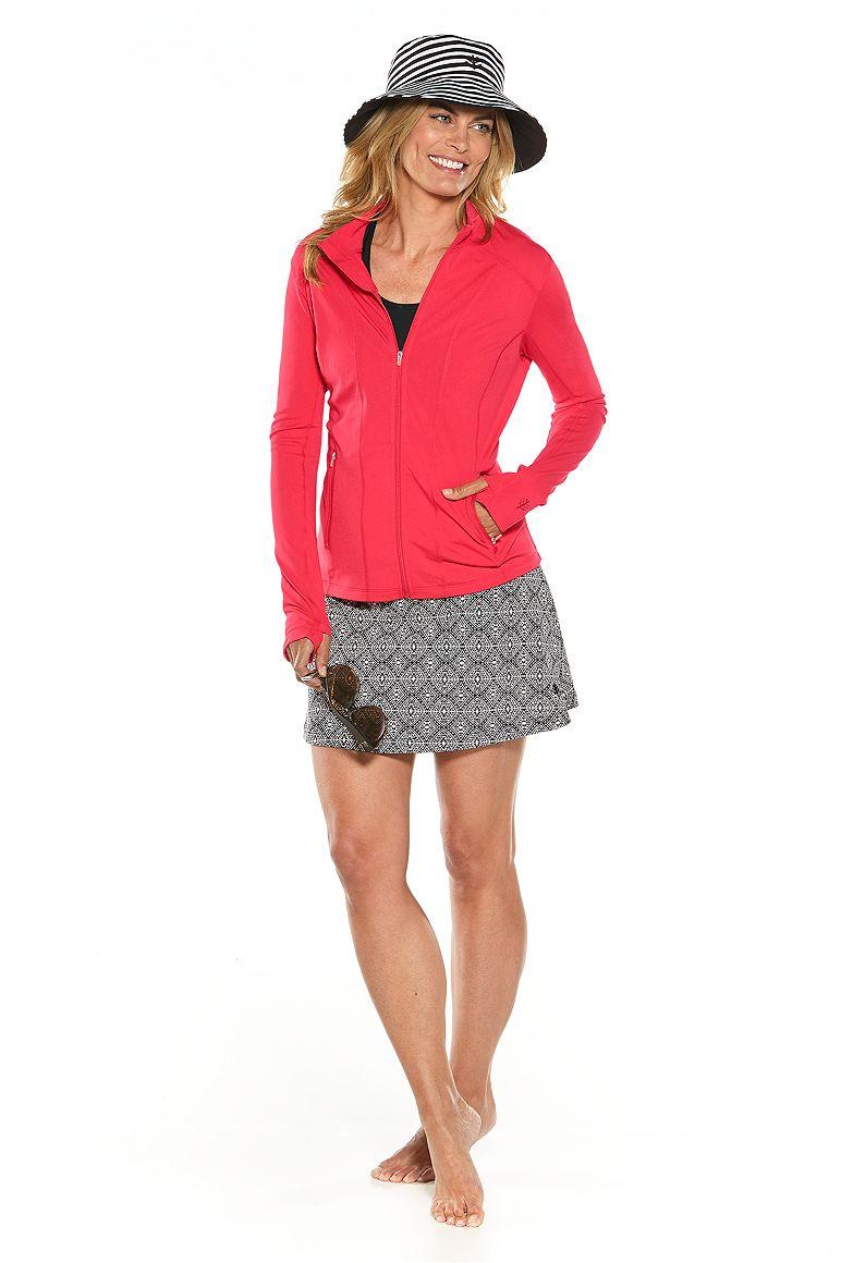 Swim Jacket & Swim Skort Outfit