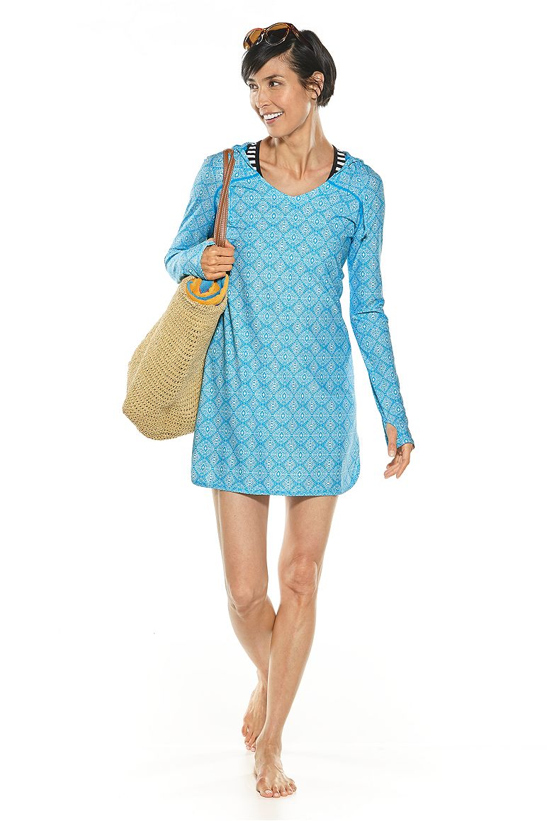 Swim Cover-Up Dress Outfit