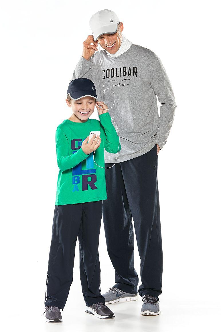 Kid's L/S Graphic T-Shirt & Men's Logo L/S Tee